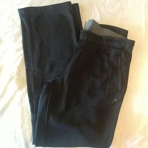 Pair of good condition pre loved HEAD sweatpants